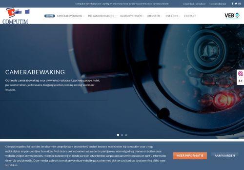 Website screenshot Computim