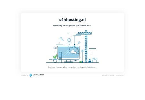 Website screenshot S4HHosting