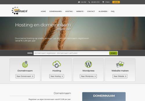 Website screenshot Your-webhost.nl