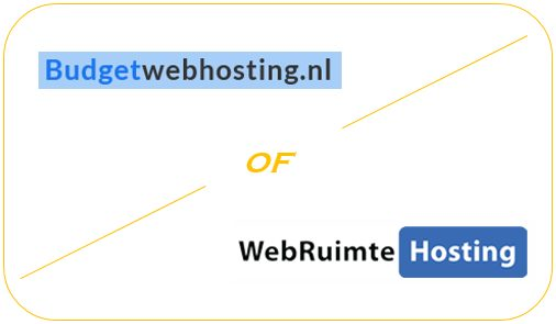 Budget Webhosting of Webruimtehosting