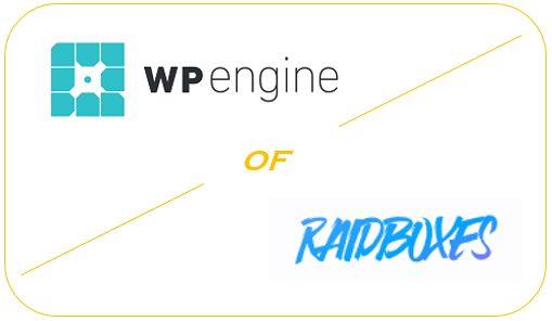 WP Engine of Raidboxes