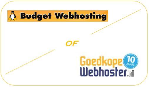 Budget Webhosting of Goedkopewebhoster