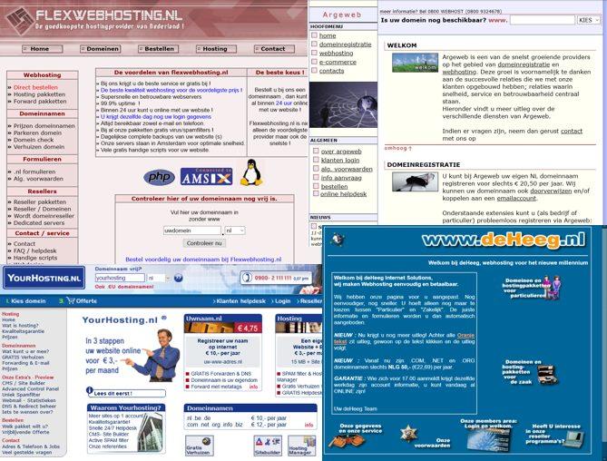 Archive Webhosting Bedrijven